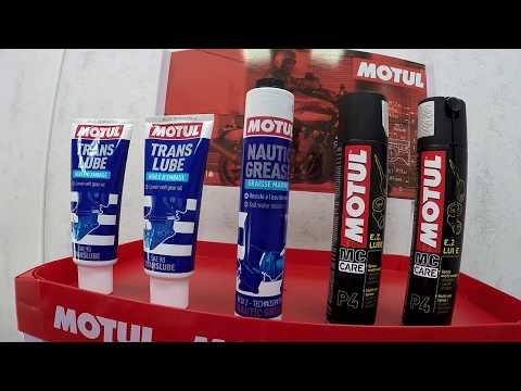 Motul и Quiksilver: моторное и трансмиссионное масло для лодочных моторов и редукторов