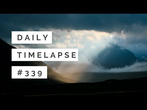 Sunrays | Iceland mountains time-lapse 4K |  #339