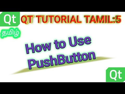 QT Tutorial 2 :How to use Push Button and print text to ...