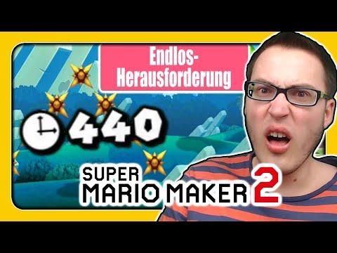 Super Mario Maker 2 (Sehr Schwierige Endlos-Herausforderung): Ein 440 Sekunden Speedrun!