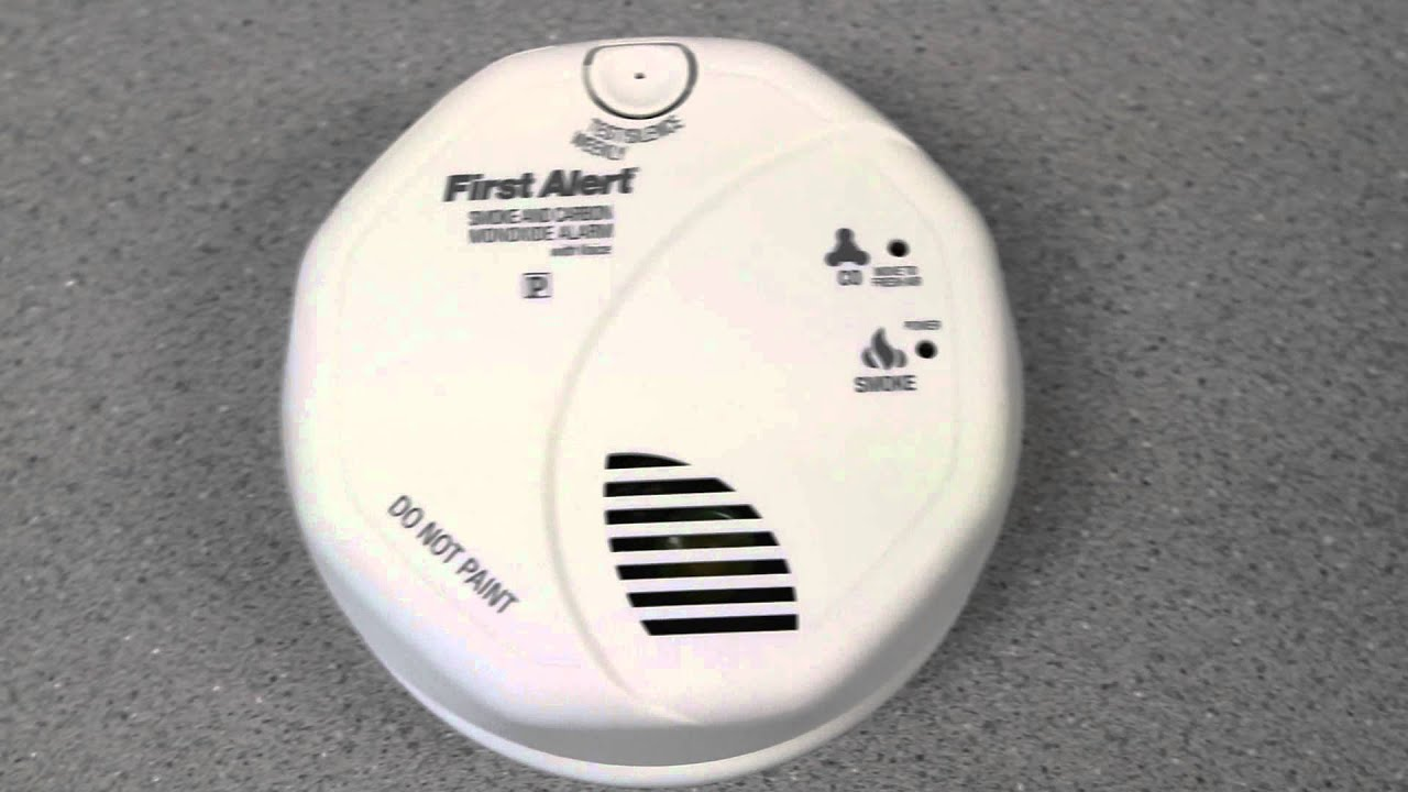 first alert smoke u0026 carbon monoxide alarm combination unboxing video - First Alert Carbon Monoxide Detector