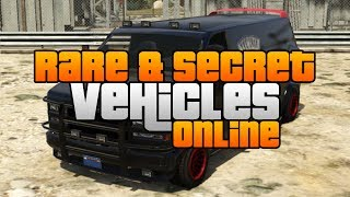 GTA 5 - Rare & Secret Vehicles Online Locations! Rare & Secret Cars Online!