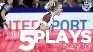 Top 5 Plays of Day 10 | Women's EHF EURO 2018