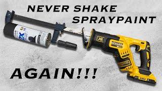 Cheap & Easy DIY Spray Can Shaker     Homemade Spray Paint Can Shaker
