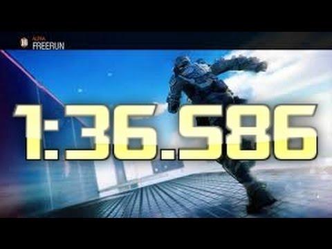 Pyrocinic -  BO3 Alpha Freerun WR   1:36.586!!!   WORLD RECORD!!!
