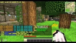 Minecraft Hunger games epicsode 1 fooooood!