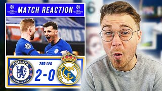 MOUNT SETS UP ALL ENGLISH FINAL! | CHELSEA 2-0 REAL MADRID | CHAMPIONS LEAGUE SEMI-FINAL REACTION