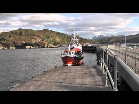 an evening at Gairloch Harbour.