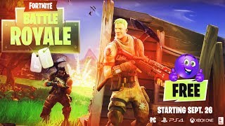 Fortnite Battle Royale Free to Play Starting September 26th (All Details)