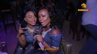 iyabo ojo nkechi and others attend actress fadekemi momoh s 32nd birthday party