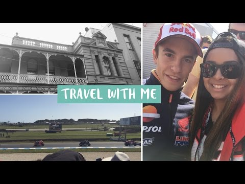 Australian MotoGP 2015 | Travel With Me | vlog #1