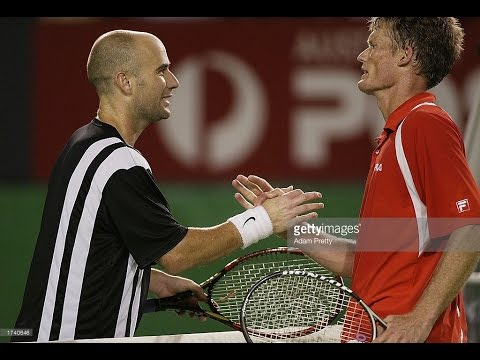 Andre Agassi VS Wayne Ferreira Highlight 2003 AO SF