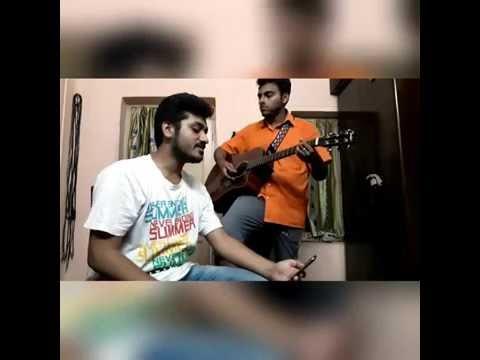 Bhoy Dekhas Na Please Acoustic Cover(Rahul:Vocal & Tathagata:Guitar/vocal)