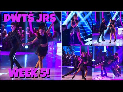 KENZIE ON DWTS JRS WEEK 5🎶 | FULL DANCE & SCORES | KFZ MNZ