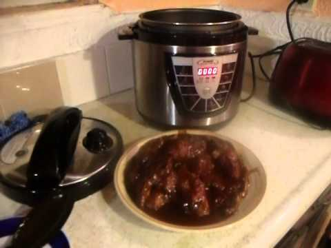 POWER PRESSURE COOKER XL BARBECUE CHICKEN & RIBS - YouTube