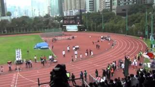 港九區D1中學學界田徑賽 2015-2016 BA 800m (Final)