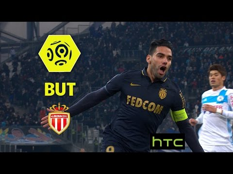 But Radamel FALCAO (21') / Olympique de Marseille - AS Monaco (1-4) -  / 2016-17