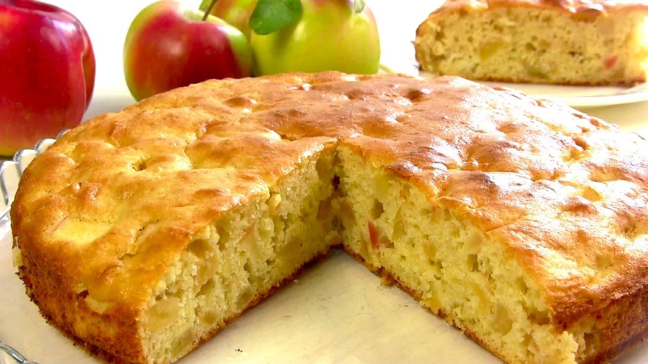 Шарлотка С Новым Вкусом!Простой и Необыкновенный яблочный Пирог
