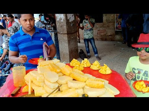 Pineapple healthy fruits chinama holl side street fruits Anarosh BD foods of Dhaka
