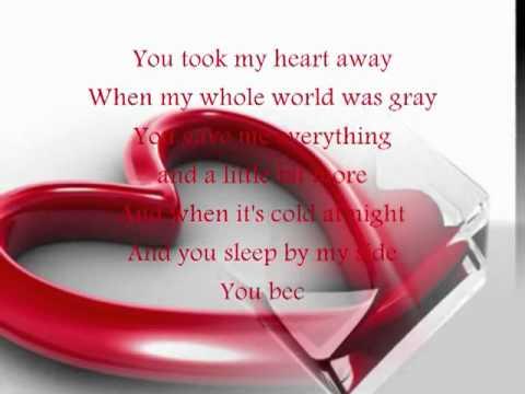you took my heart away-Lyrics.flv