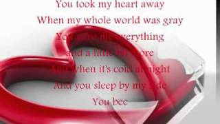 you took my heart away-Lyrics.flv