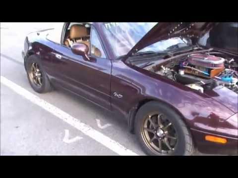 Hellcat vs V8 miata