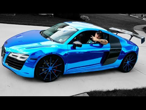 LANCE STEWART LET ME DRIVE HIS AUDI R8! (GONE WRONG)