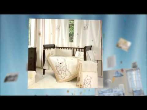 Nursery Crib Bedding Sets - YouTube