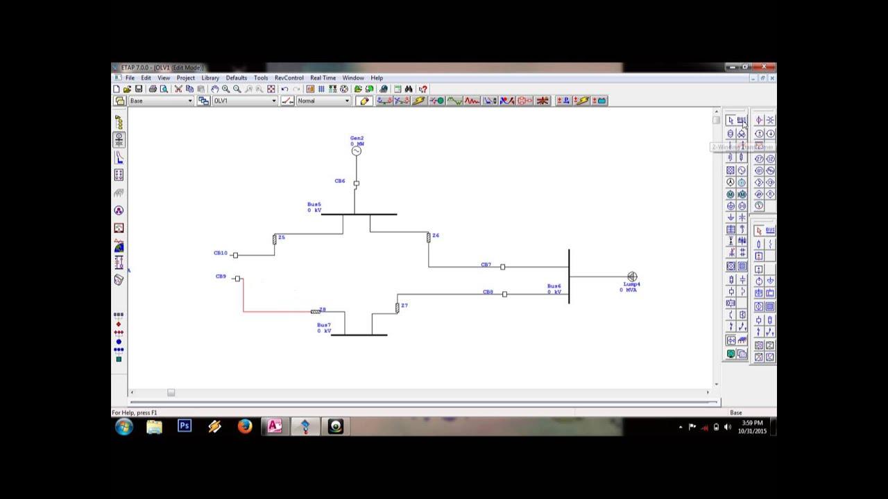 Tutorial Single Line Diagram Etap 7 0 By Parulian Sinaga