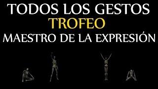 """Dark Souls 3 - Todos los gestos (Trofeo """"Maestro de la expresión"""")"""