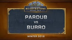 Pardub vs Burro - Grand Final - DreamHack HCT Grand Prix Winter 2018