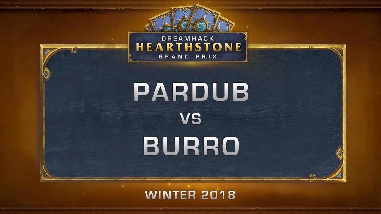 Pardub vs Burro - Grand Final - DreamHack HCT Grand Prix Winter 2018
