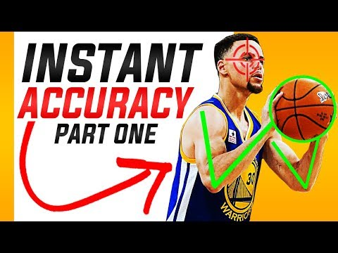 How To Increase Your Shooting Accuracy Instantly: Basketball Shooting Form Part 1