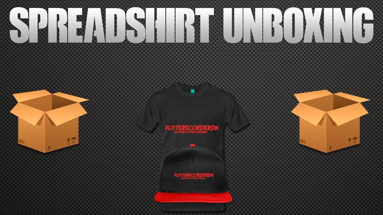 Futte Tøj!! Unboxing - T-Shirt/Cap - Spreadshirt Shop ...