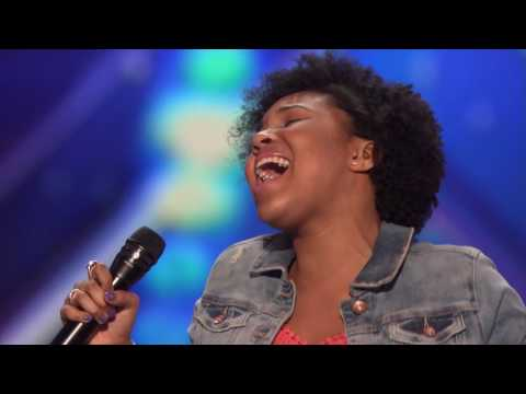 Jayna Brown  14 Year Old Slays With Her Cover of  Summertime    America's Got Talent 2016 Auditions