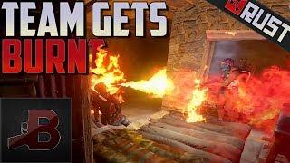 Team Gets Burnt! - Rust