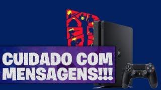 ALERTA!!! MENSAGEM PODE TRAVAR O SEU PLAYSTATION 4!!! SAIBA COMO SE PROTEGER AQUI!!!