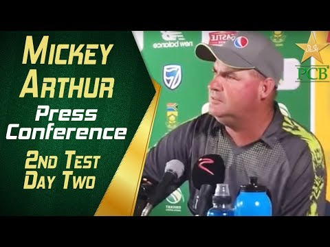 Pakistan Tour South Africa | Mickey Arthur Press Conference | 2nd Test - Day Two | PCB