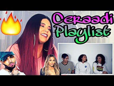 Chris Brown & Ciara | Ceraadi Playlist | Reaction