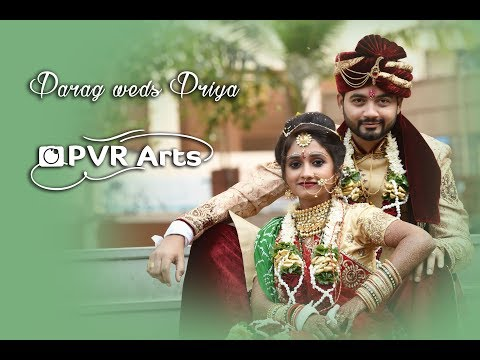 Parag & Priya Wedding Highlight | By PVR Arts |