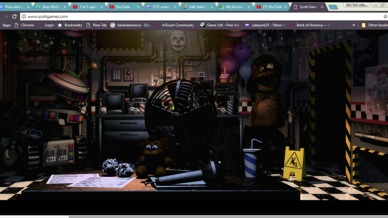 Fnaf Ultimate Custom Night Office Review