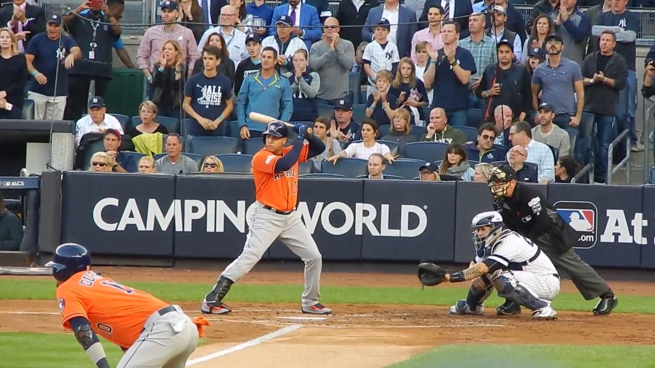Astros Carlos Beltran Batting Alcs Game 5 Hd