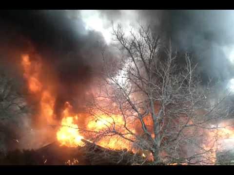 Aledo VFD,  Texas structure fire 2-16-2012