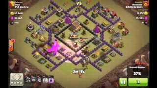 Clash of Clans Honoric attack 1 P.A. United War 51