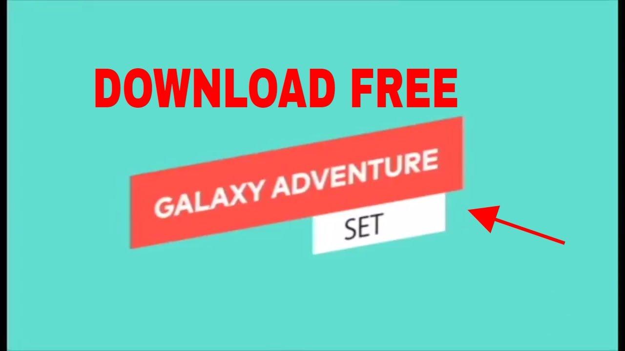 galaxy adventure set filmora free download