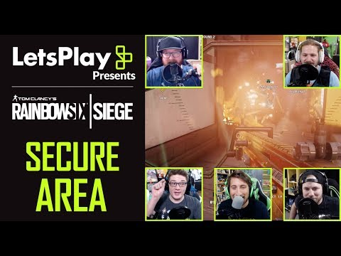 Rainbow Six Siege: Secure Area With Achievement Hunter! | Let's Play Presents | Ubisoft
