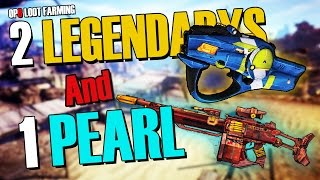 """""""TWO LEGENDARY'S AND A PEARL!! - (Borderlands 2 OP8 Legendary Loot Farming)"""