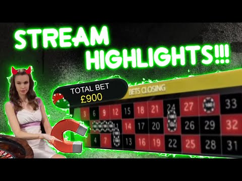 Quick HIGH Stakes Table Games Session!! Stream Highlights!