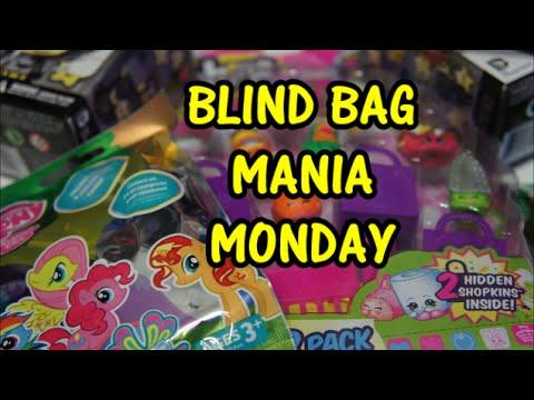 Blind Bag Mania Monday Shopkins Season 2 My Little Pony
