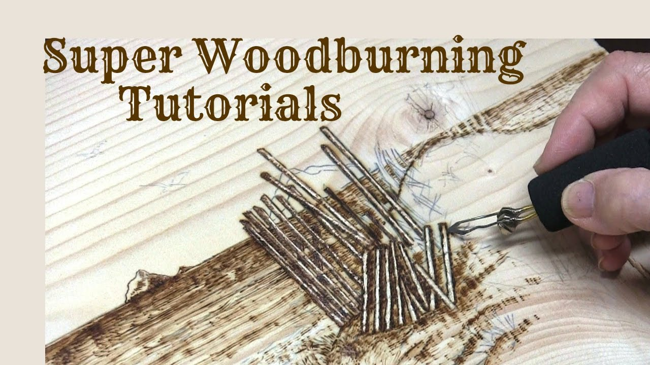 Super Wood Burning And Pyrography Tutorials Promo Youtube